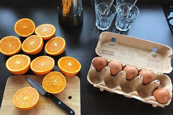 диета апельсины и яйца на 4 недели
