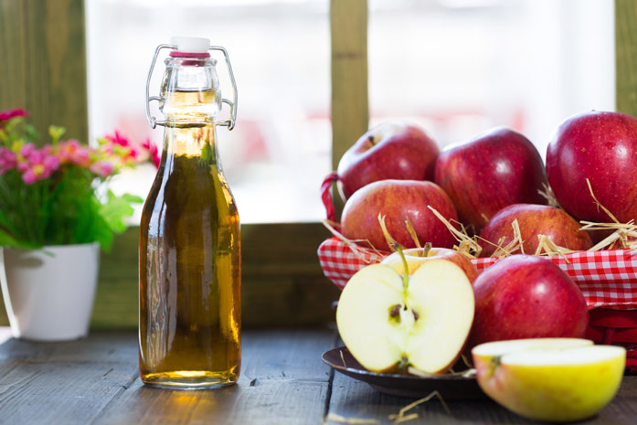 Диета на яблочном уксусе  меню для похудения
