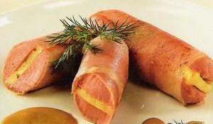 Сосиски с начинкой