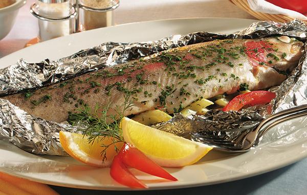Рыба с овощами диета