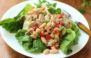 Салат с бобами - рецепт пошаговый с фото