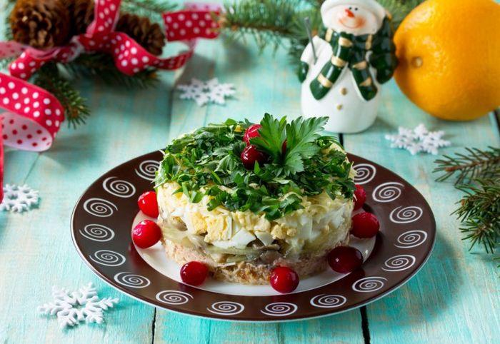 Рецепты новогодних салатов 2