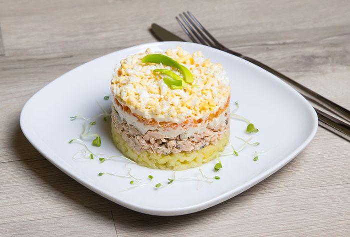 Рецепты новогодних салатов 12