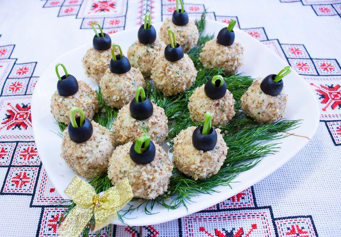 Рецепты новогодних салатов 4