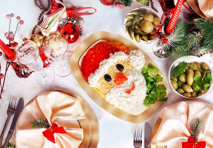 Рецепты новогодних салатов 5