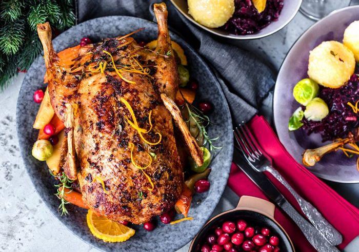 Новогодние горячие блюда 5