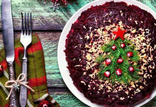 Рецепты новогодних салатов 1