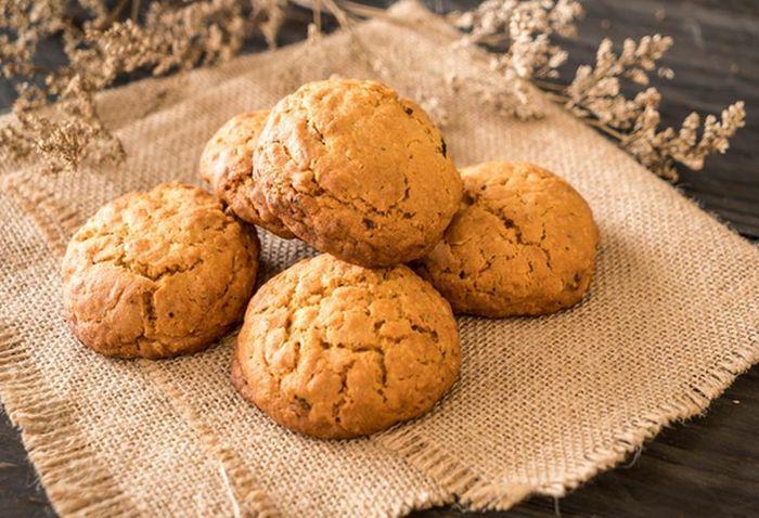 Овсяное печенье без муки 6