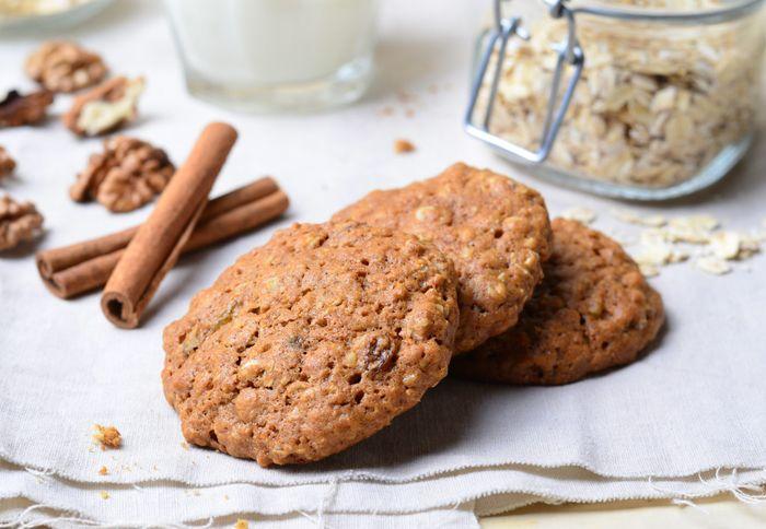 Овсяное печенье без муки 4