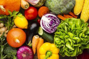 Овощи с низким гликемическим индексом: таблица